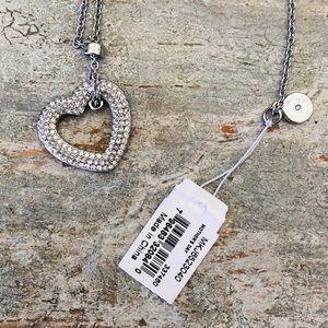 ♥️ Michael Kors ♥️ Heart Diamond Necklace